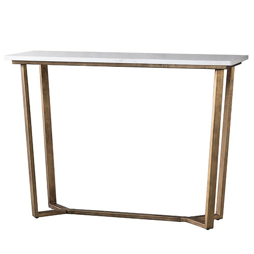 Cleopatra Console Table Marble