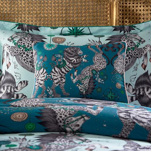 Caspian Teal Boudoir Pillowcase