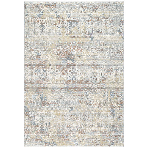 Canyon - Distressed Antique Rug - Multi
