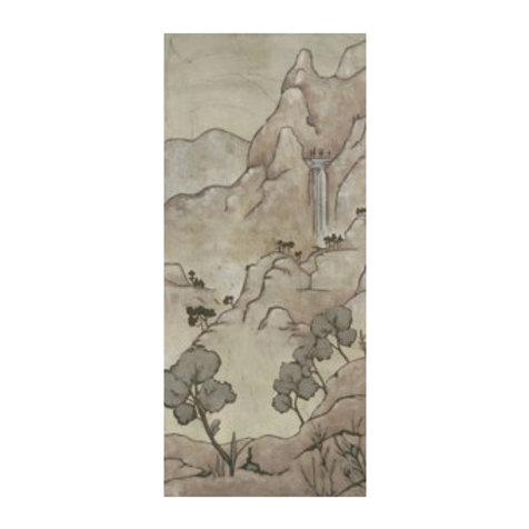 Chinoiserie Landscape I - Canvas Art
