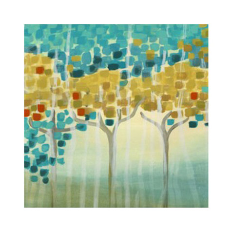 Forest Mosaic I  - Canvas Art