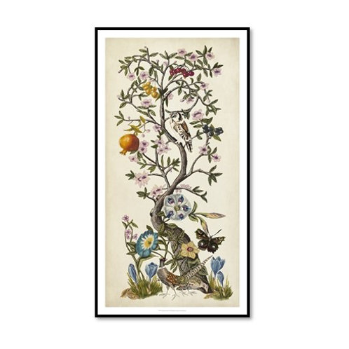 Chinoiserie Natura I - Framed & Mounted
