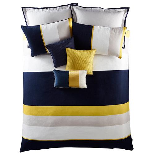 Colour Block Standard Pillowcase Pair