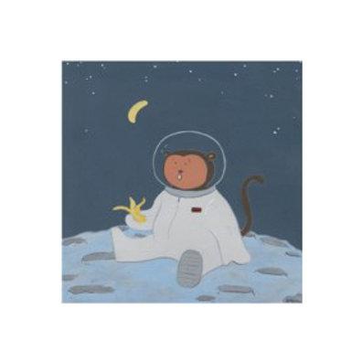 Monkeys in Space IV - Canvas Art