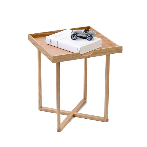 Damien Square Table - Natural Oak