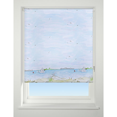 Universal Daylight Patterned Roller Blind - Sea View
