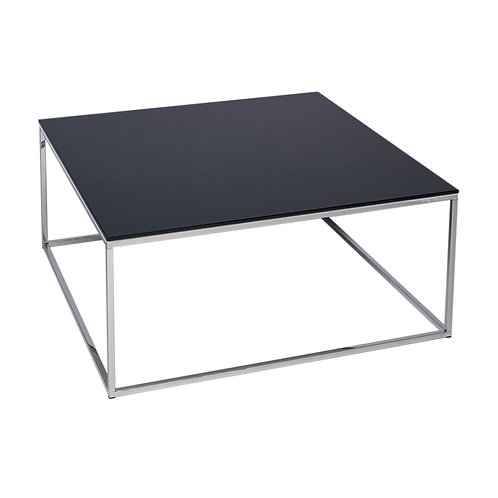 Kensal Square Coffee Table - Chrome Frame