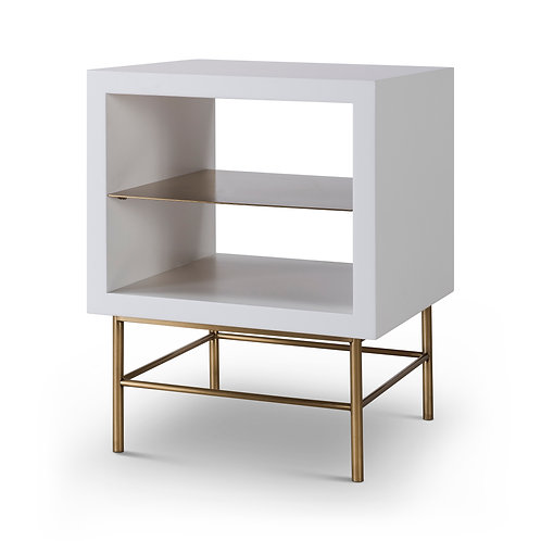 Alberto Side Table - White