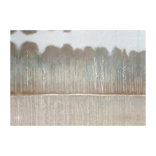Along the River Bank I - Canvas Art