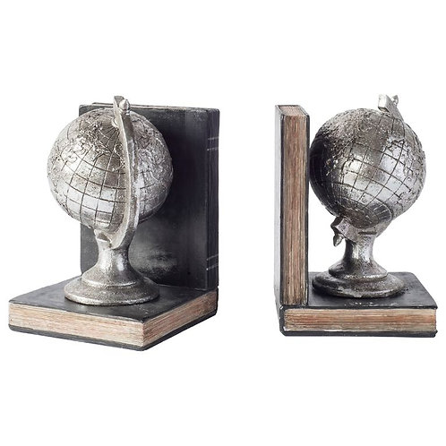 Around the World Bookends