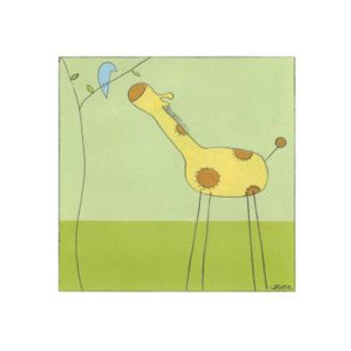 Stick-Leg Giraffe II - Canvas Art