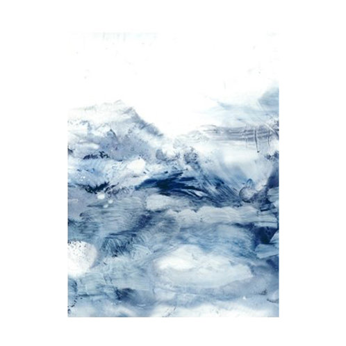 Indigo Tides II - Canvas Art