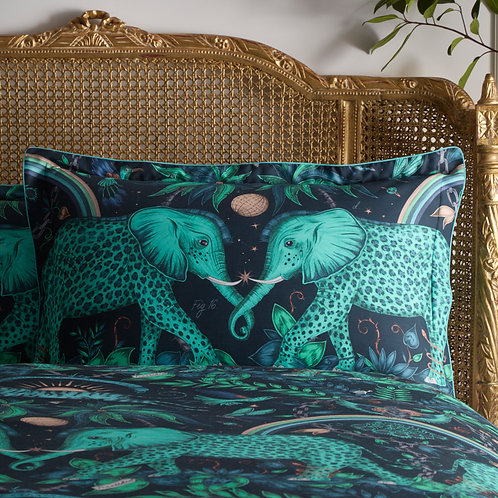 Zambezi Teal Oxford Pillowcase
