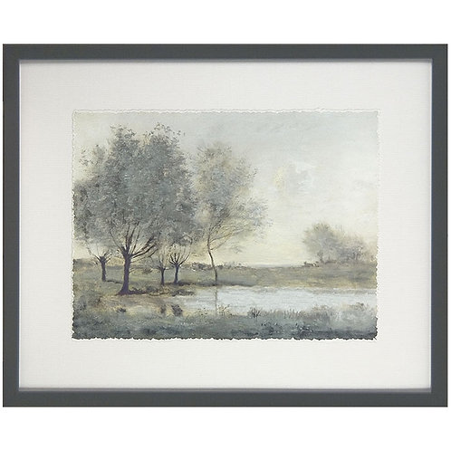 By the Pond II - Framed Art