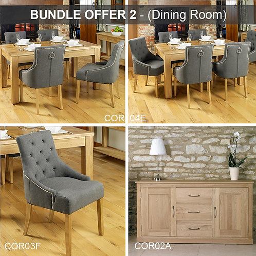 BUNDLE 2 - Mobel Oak (Dining Room)