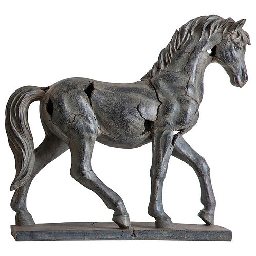 Aamir Antique Horse Statue