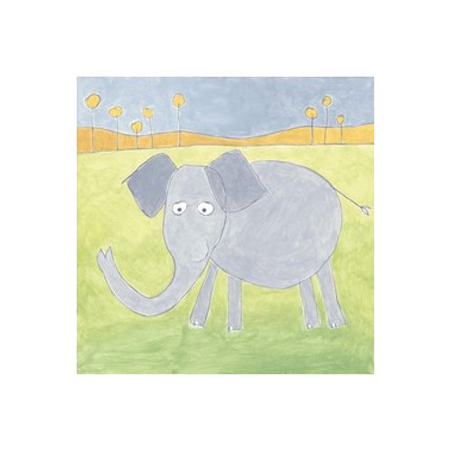 Quinn's Elephant- Canvas Art