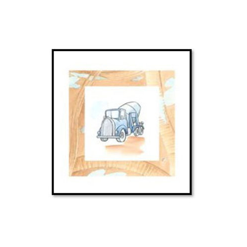 Charlie's Cement Mixer - Framed & Mounted Art