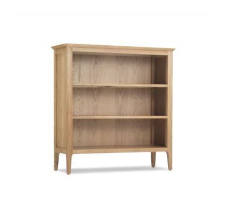 Wardley Oak - Low Bookcase