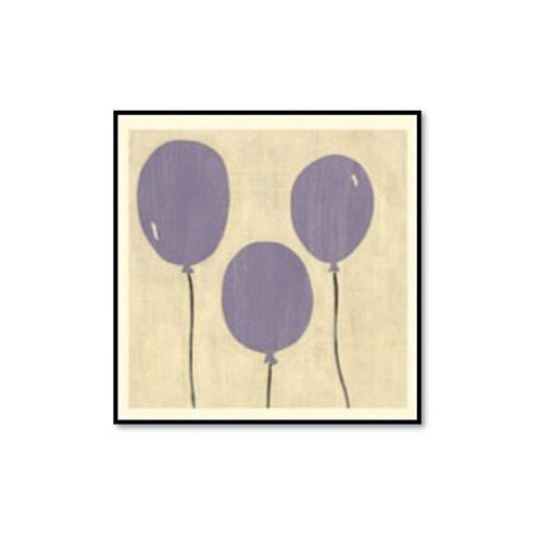 Best Friends- Balloons- Framed & Mounted Art