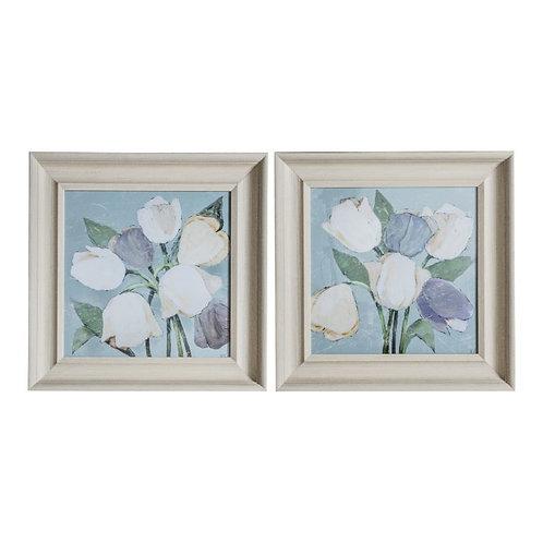 Tulip Bunch - Framed Art