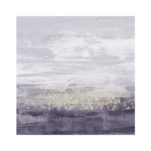 Amethyst Glitter II - Canvas Art