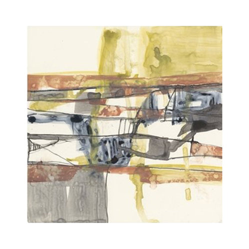 Stepped Abstract I - Canvas Art