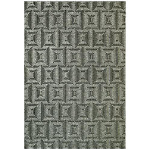 Geo - Garden Maze IV Rug - Beige/ Grey