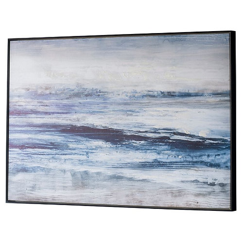 Choppy Shore - Canvas Art in Frame