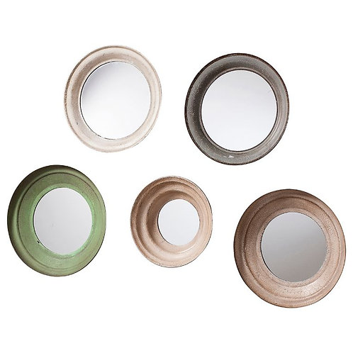 South Port Mirrors (Set of 5)