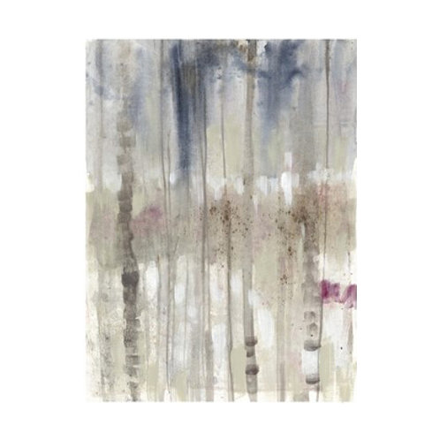 Subtle Birchline I - Canvas Art