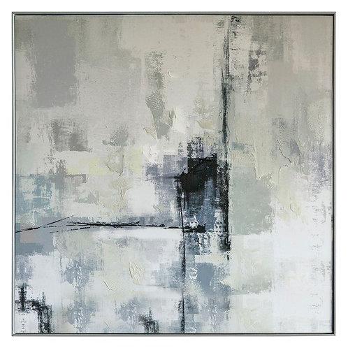 Blue Landscape - Framed Art