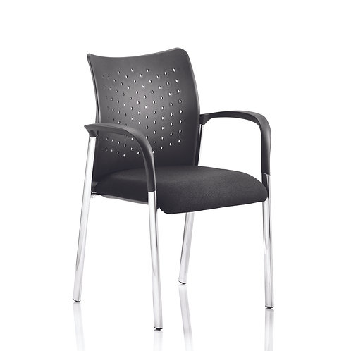 Academy Chair Black With Arms