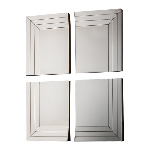 Section Mirror - pack of 4