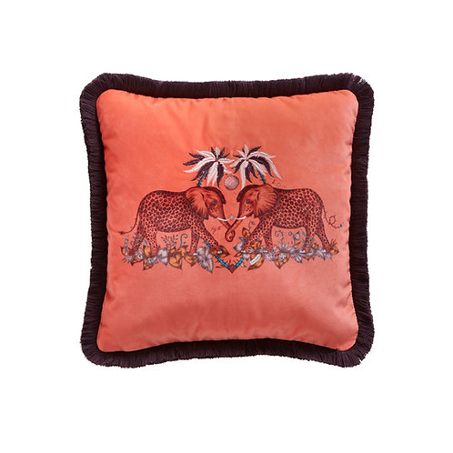 Zambezi Flame Square Cushion