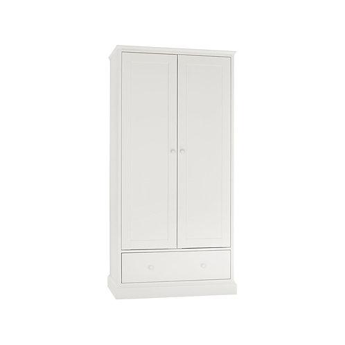 Ashby White Double Wardrobe