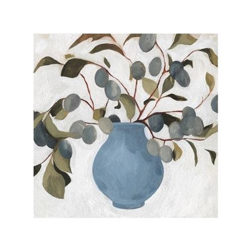 Plum Branch Arrangement I - Canvas Art