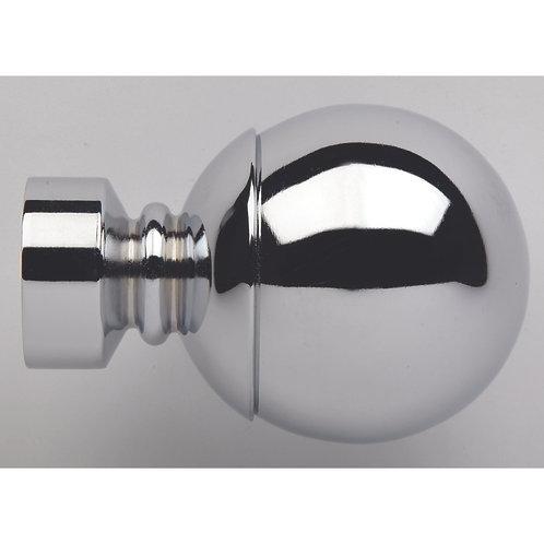 Neo Original 28 mm Ball Finial - Chrome