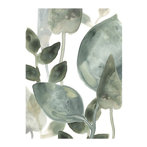 Water Leaves I- Canvas Art