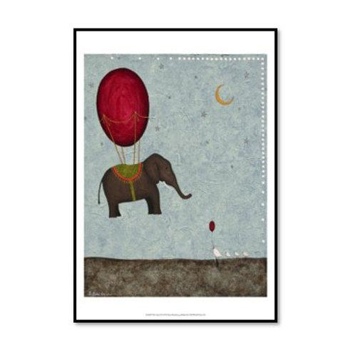 The Arrival - Framed & Mounted Art