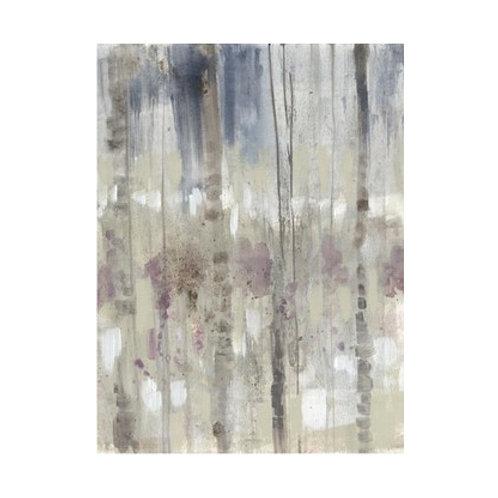 Subtle Birchline II - Canvas Art