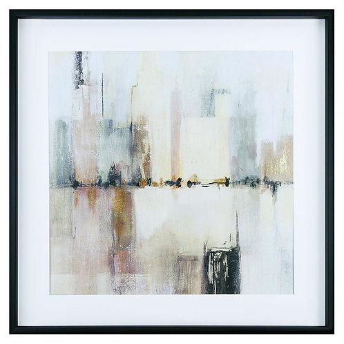 City Strata I - Framed Art