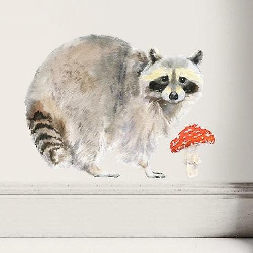 Raccoon - Kids Wall Stickers