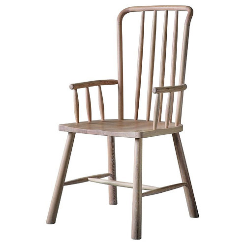Wichama Carver Dining Chair - Pack of 2
