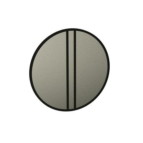 Chevron Weathered Ash Mirror