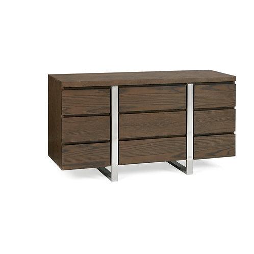 Tivoli Dark Oak Narrow Sideboard