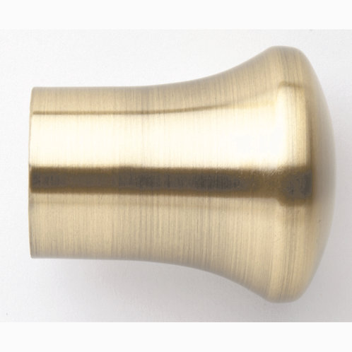 Neo Original 35 mm Trumpet Finial - Spun Brass