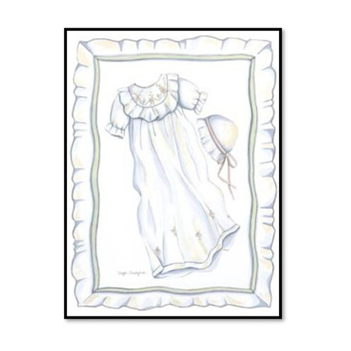 Baby's Special Day - Framed & Mounted Art