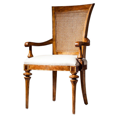Stalk Dining Cane Back Armchair