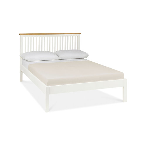 Atlanta Two Tone Low Footend Bedstead - Double 135 cm